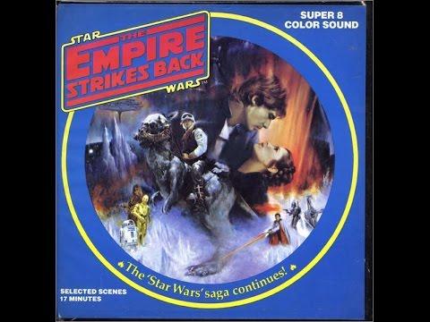 Vintage Empire Strikes Back Super 8 Color With Sound (both reels)