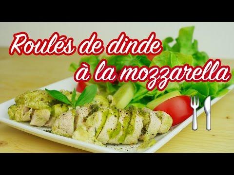 recette-minceur---roulés-de-dinde-mozzarella-courgette