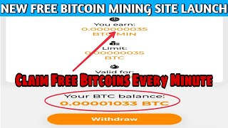 Btc-rush.org - New Free Bitcoin Mining Site 2020 | Claim Free Bitcoins Every Minute + Giveaway
