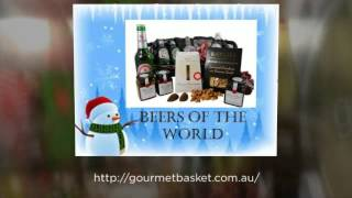 Wonderful christmas gift baskets from Gourmet basket