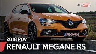2018 RENAULT MEGANE RS | POV eblogAUTO