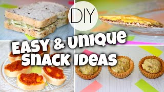 Quick & Unique Snack Ideas For School Thumbnail