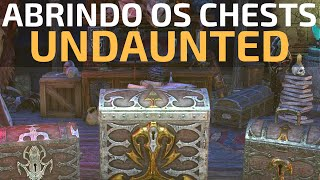 Elder Scrolls Online - Opening 20 Gold Undaunted Chests