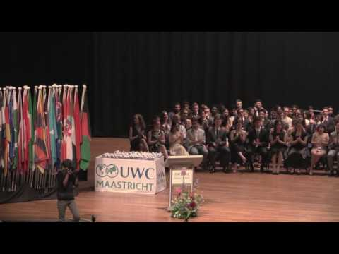 United World College Maastricht Leaving Cermony 2017