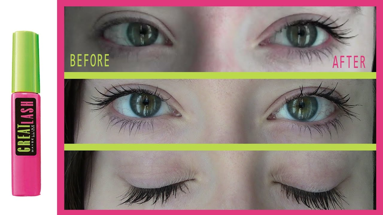 841745993ad Maybelline Great Lash Mascara First Impressions - YouTube
