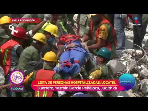Rescate en edificio derrumbado en Amsterdam, La Condesa   Sale el Sol