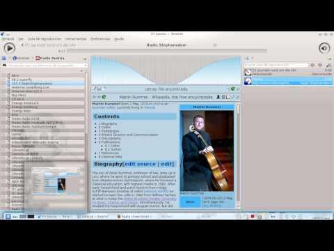 Agregar estaciones de radio en Amarok (Linux)
