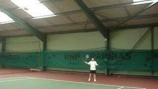 French Tennis amateur (François et Johan)