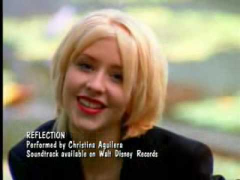 reflection by christina aguilera song Christina aguilera (album) christina aguilera studio album by after recording reflection, the theme song for mulan, rca laid the foundation for the album immediately and started presenting aguilera with tracks for her debut album.
