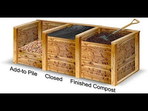 Compost 3-Bin System - Part 7 - Complete Bins: Fronts ...