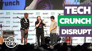 Hot In Tech CrashTech Crunch Disrupt, Talk SnapChat Vs. Instagram, Recordgram Win + MIXHalo
