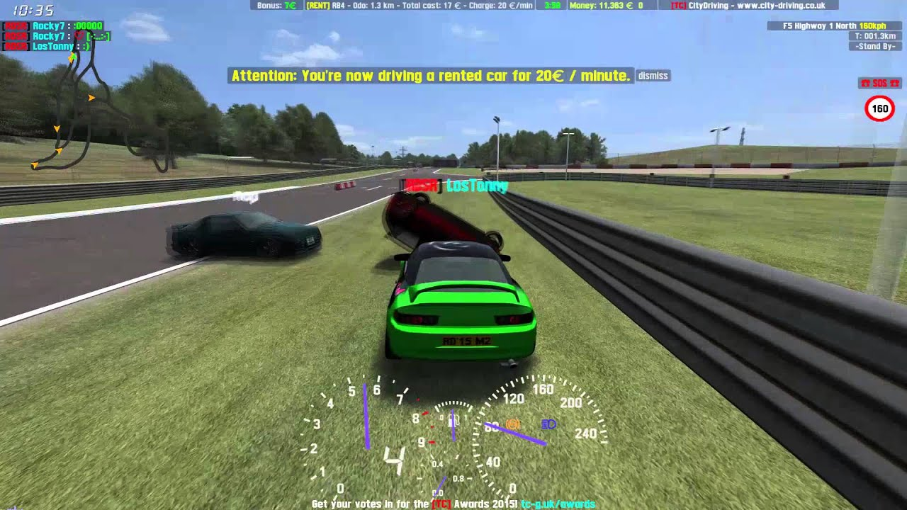 LFS City Driving - Pro Tow | RDSR - YouTube