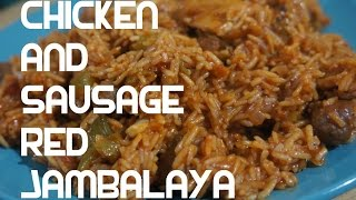 Jambalaya Chicken N Sausage Recipe - Creole Louisiana Red Rice