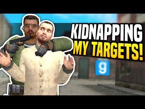 KIDNAPPING MY TARGETS - Gmod DarkRP | Hitman Kidnapper Roleplay!