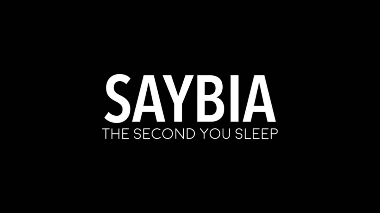 lirik lagu the second you sleep