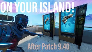 *UPDATED* Get WORKING VENDING MACHINES on Your Island in Fortnite Creative!! After Patch 9.40