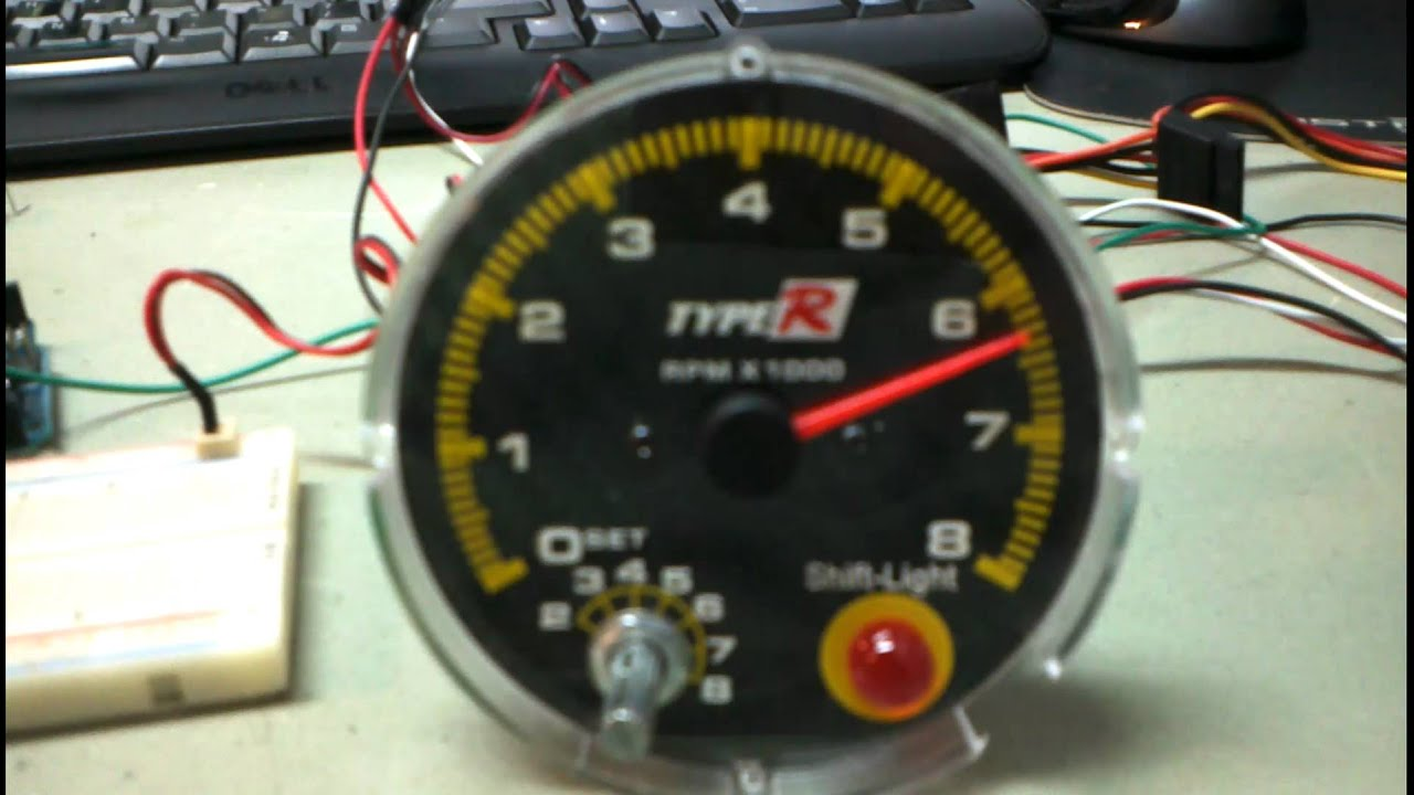 "rpm gauge hook up 5"" 7k tachometer, 3-in-1 with trim & oil pressure installation instructions caution: on most late model outboards, a tach hook-up wire."