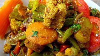 Mix Veg Recipe in Hindi - मिक्स वेज रेसिपी by Sonia Goyal @ jaipurthepinkcity.com