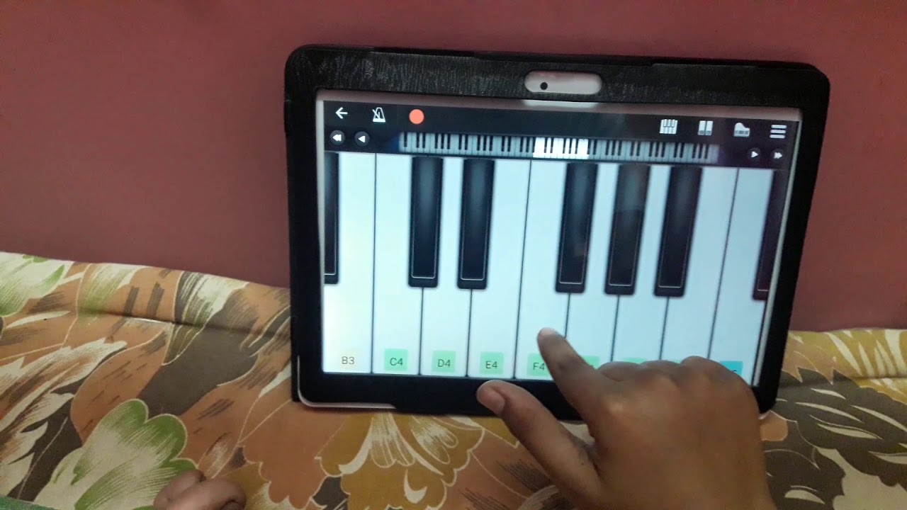 How to do Kaththi music in keyboard ????????????????