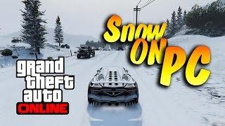 GTA 5 Online - Snow on PC