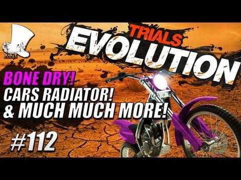Trials Evolution #112 - Bone Dry! CARS Radiator & Much Much More!