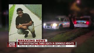 Suspicious death in Seminole Heights possibly connected to 2 other shooting deaths