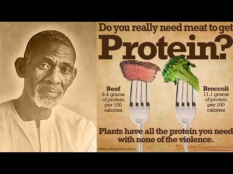 Dr. Sebi The Protein Food Myth (Clip)