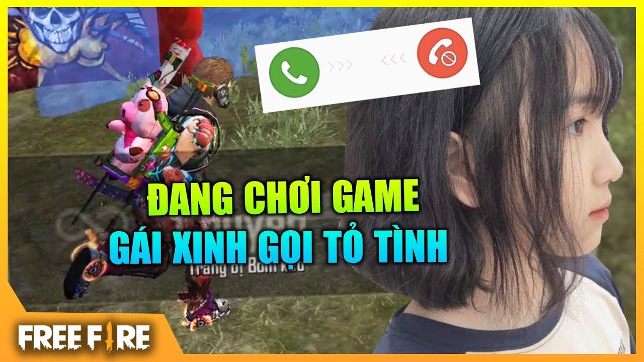 [FREEFIRE] Đang Chơi Game Gái Xinh Gọi Tỏ Tình | Sỹ Kẹo