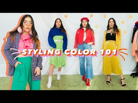 How to put together colorful outfits! 🎨#notdifficult #trustme - YouTube