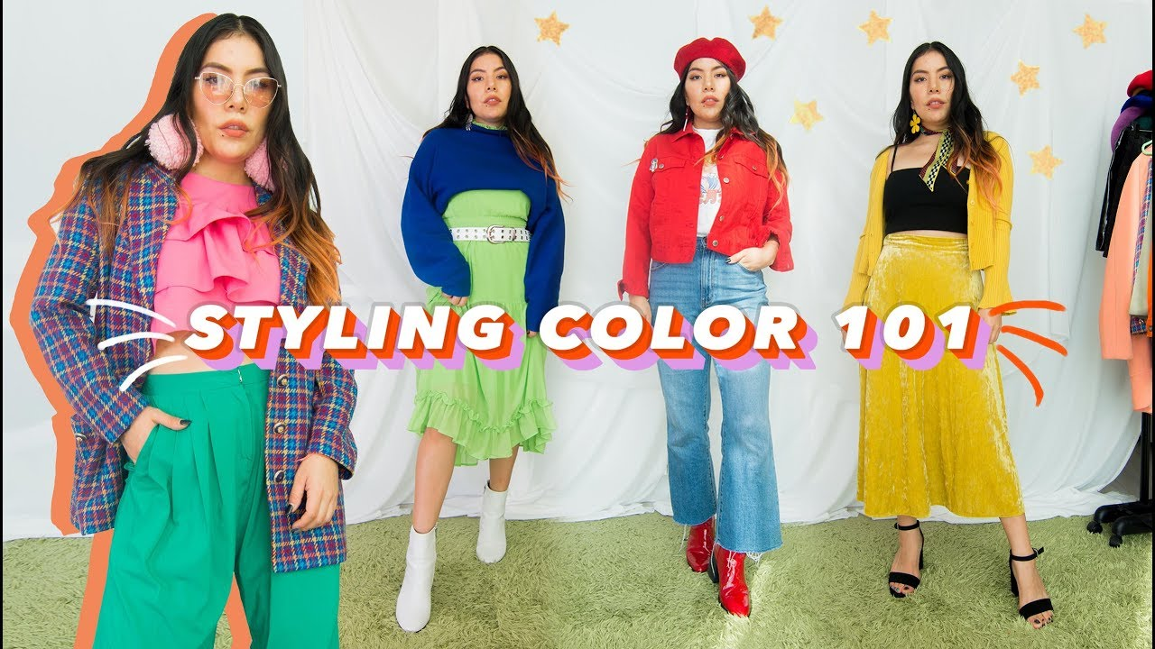 [VIDEO] - How to put together colorful outfits! 🎨#notdifficult #trustme 8