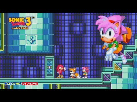 Amy Rose in Sonic The Hedgehog 3 (Sega Genesis) - Longplay thumbnail