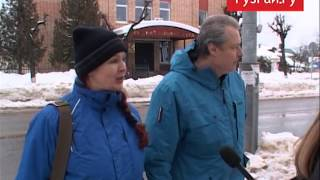 Опрос на улицах города Руза