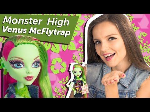 Venus McFlytrap Basic (Венера Базовая) Between Classes Monster High Обзор и Распаковка\ Review X3651