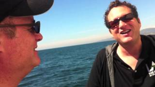 Vlogging on the Irving Johnson - March 10, 2014