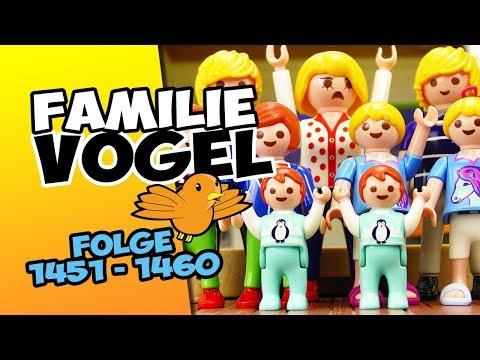 Playmobil Filme Familie Vogel: Folge 1451-1460 Kinderserie | Videosammlung Compilation Deutsch