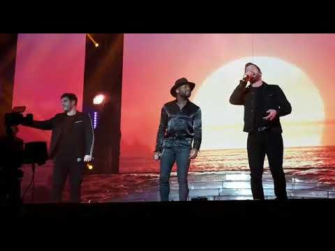 Kevin, Lloyd and Matt - X Factor Tour 2018