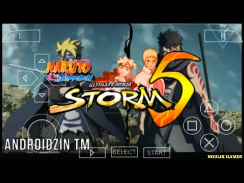 Cara Download Di Android Game Naruto Shippuden Ultimate Ninja Storm 5 (Mod) PPSSPP