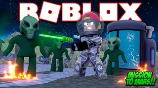 ROBLOX - MISSION TO MARS!!