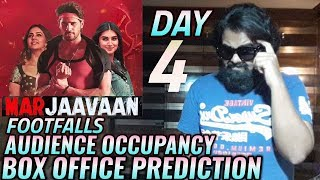 MARJAAVAAN BOX OFFICE COLLECTION DAY 4 | PREDICTION | OCCUPANCY | SIDHARTH MALHOTRA | RITESH