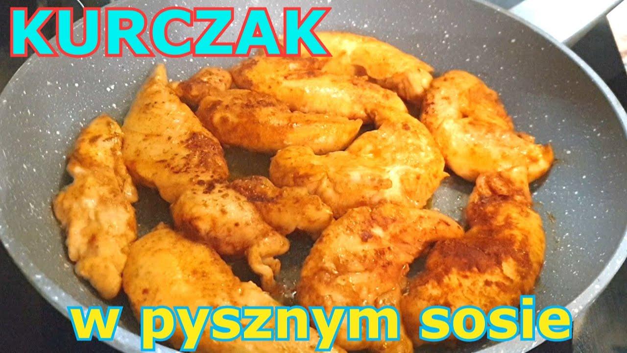 Ekspresowy kurczak w pysznym sosie 👌 szybki obiad w kilka minut 👍