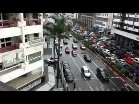 Car Traffic At Casablanca (Morocco)