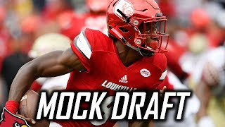 2018 NFL Mock Draft - Post NFL Week 2 Edition Free HD Video
