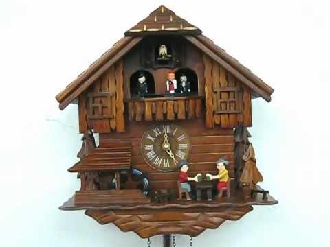 Drinking Beer Music Cuckoo Clock (#60805)