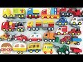 Street Vehicle For Kids | Cars And Trucks | Fire Truck | Police Car | Car Transporter