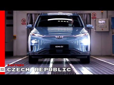 Hyundai Kona Electric Production Starts In The Czech Republic