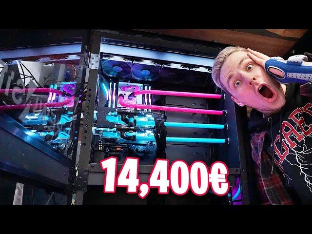 Mein NEUER 14.400€ PC! Ein MONSTER!