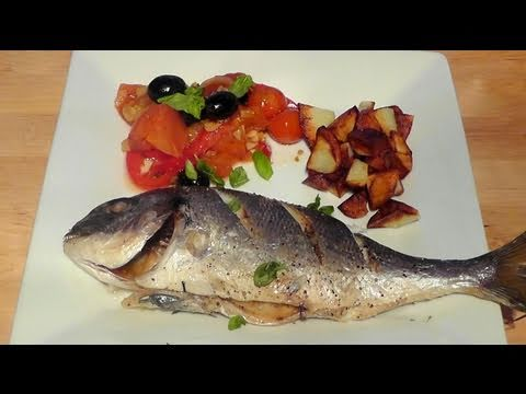 How to cook Sea Bream Mediterranean style recipe