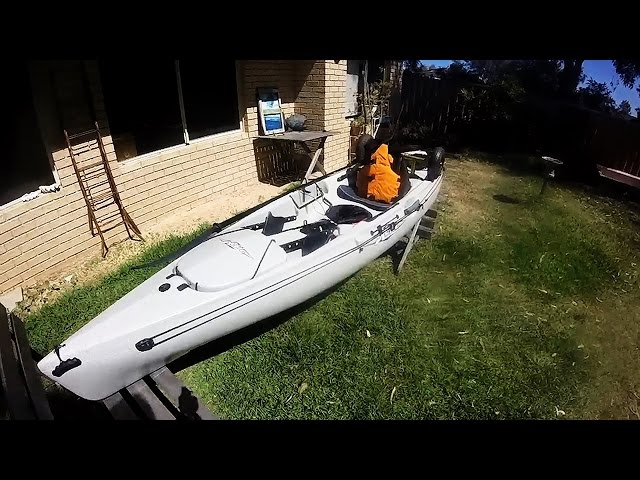 Hobie Quest 11 Kayak - First Impressions.