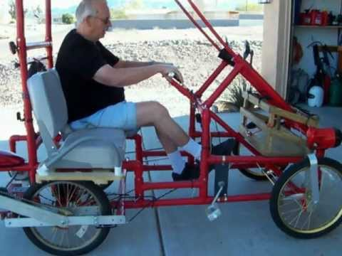 American Speedster PVC 4 wheel bicycle.MOV