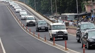 Shri. Narendra Modi's PM Convoy in Hyderabad | Cloud access security | 100 cars Live, Full security